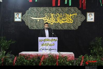 اولین اجتماع مدافعان حرم غرب گرگان /تصاویر