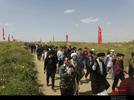 حضور کاروان راهیان نور دانش آموزی اردبیل در یادمان شهدای فکه