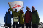 thm 3318602 710 - صعود تیم کوهنوردی پایگاه شهید مدنی همدان به قله سیالان